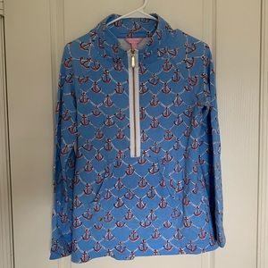 Well loved Lilly Pulitzer Popover